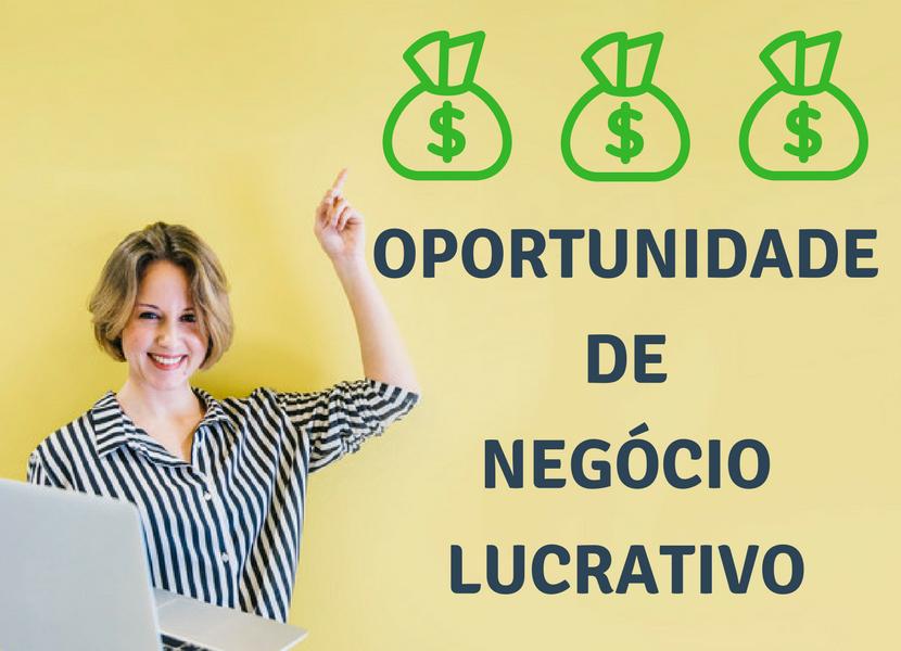 Oportunidade de Negócio Lucrativo